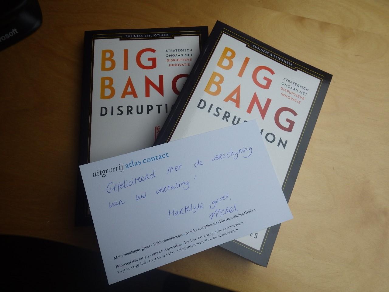 Verschijning van Big Bang Disruption